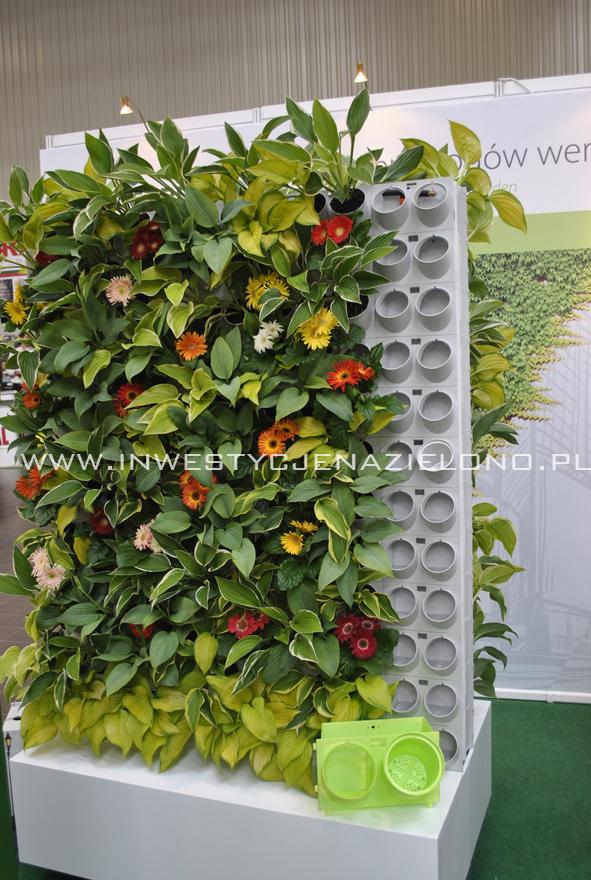 """system kubełkowych zielonych ścian foirma - """"Gardenspot"""""""